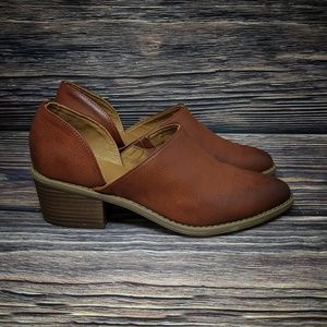 Universal Thread Brown Pointed Toe D'orsay sz 8.5